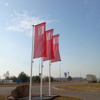 флаг уличный